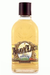 Tequila made from agave