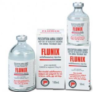 Flunix - a steroidal hormone fed to livestock