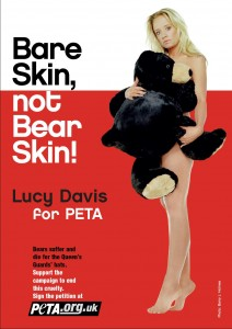 One of PETA's provocative ads