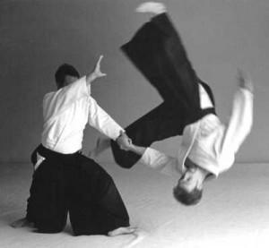 Aikido - a Japanese art integrating movement and stillness