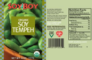 Tempeh - a soy product
