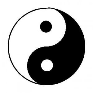 The tai chi symbol
