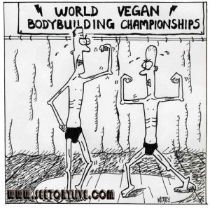 This is the misperception about vegans