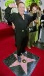 Jack Lalanne at age 88, getting his own star on the Hollywood Walk of Fame