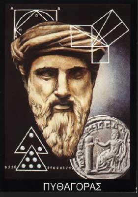 Pythagoras - mathematician, philosopher, mystic