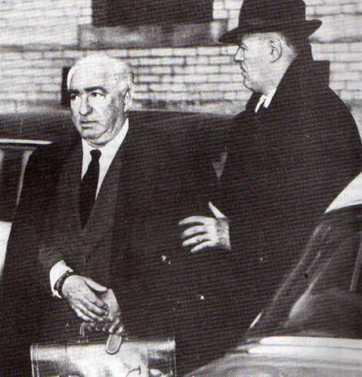 Wilhelm Reich, arrested by the U.S. government