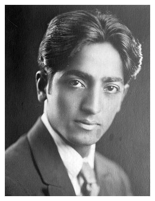 Krishnamurti at the age of 29
