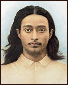 Yogananda as a young man