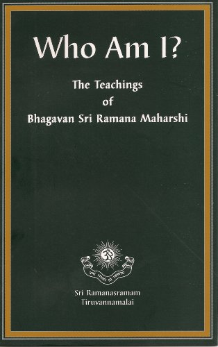 "The core of Ramana's teachings of self-inquiry asked the question, ""Who Am I?"""