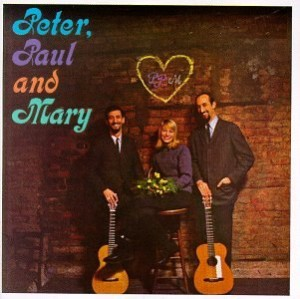 The cover of Peter, Paul and Mary's very first album