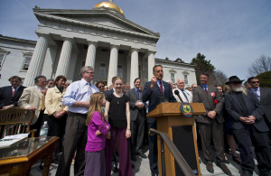 In May 2014, Vermont Gov. Peter Shumlin signed a bill into law making Vermont the first state to mandate GMO labeling.