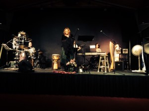 Joy Adler and the Souls of Evolution performed at the Revolutionpalooza