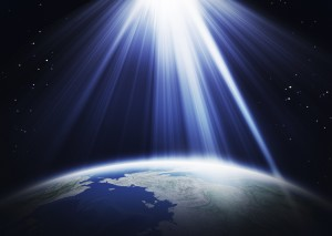 sunlight and earth